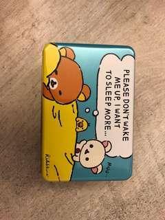鬆弛熊鐵盒