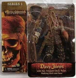 Neca pirates of the Caribbean dead man's chest davy Jones action figure toy collectible