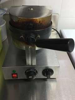 Commercial Belgium Waffle Maker