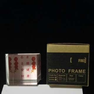 玻璃立體相架 3D photo frame