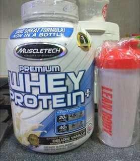 MuscleTech Premium 100% Whey Protein (5LBS)