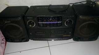 Radio Sony mega bass