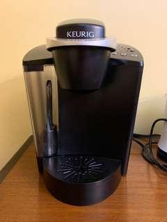 Keurig K-cups single serve coffee brewer