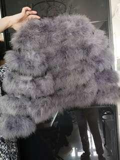 紫色毛毛褸