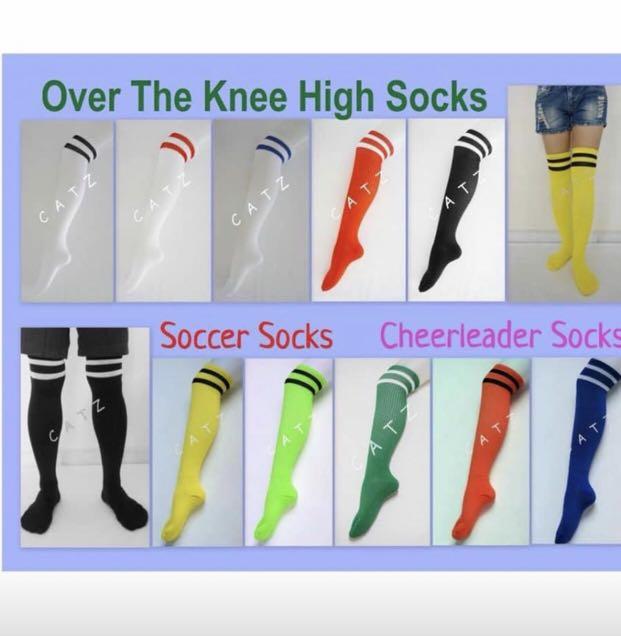 27c06cd98 PREMIO   Striped Knee High Socks Thigh High Over The Knee Socks ...