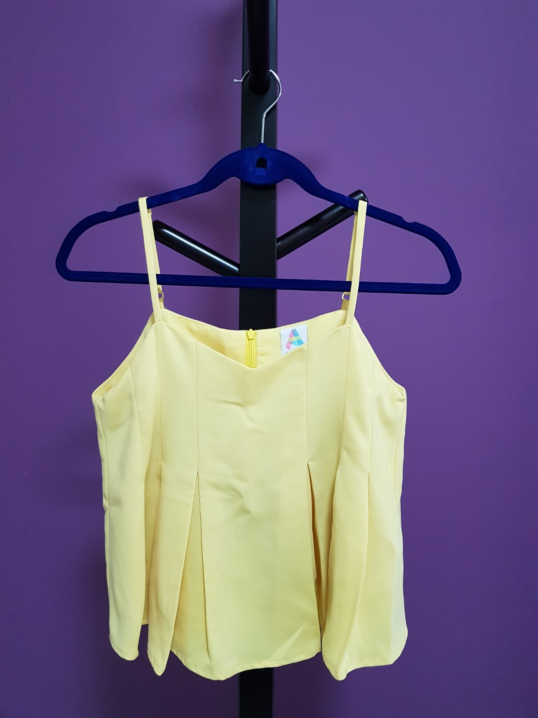 70cae0bf A for Arcade Top in Yellow, Women's Fashion, Clothes, Tops on Carousell