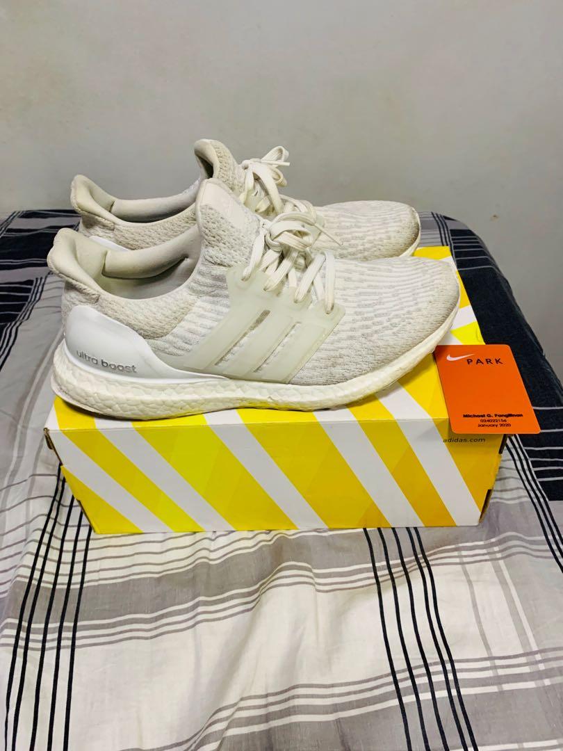 d4445ca1e Adidas Ultraboost v3 white size 7.5