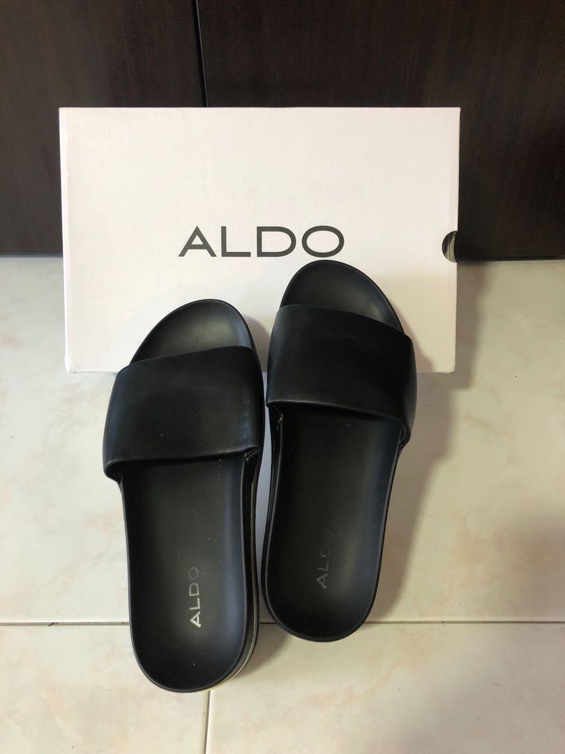 Platform Sliders / Slippers (Brand