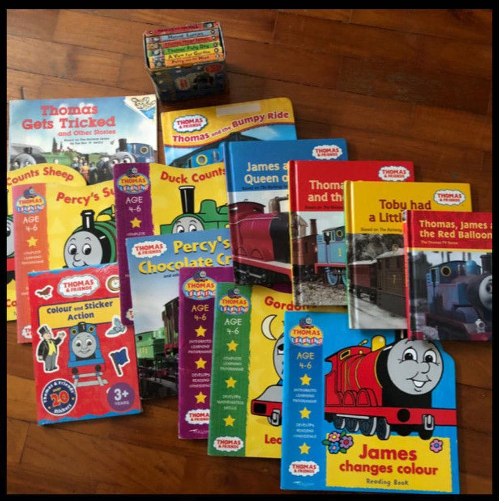 Assorted Thomas and Friends books, Books & Stationery