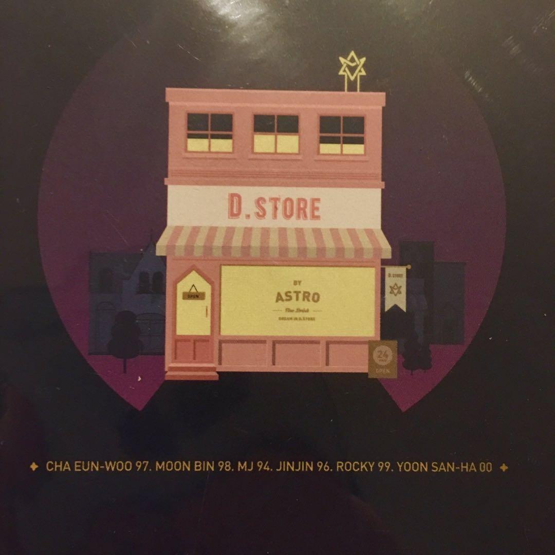ASTRO DREAM PART .01 - CHA EUNWOO Official Standie