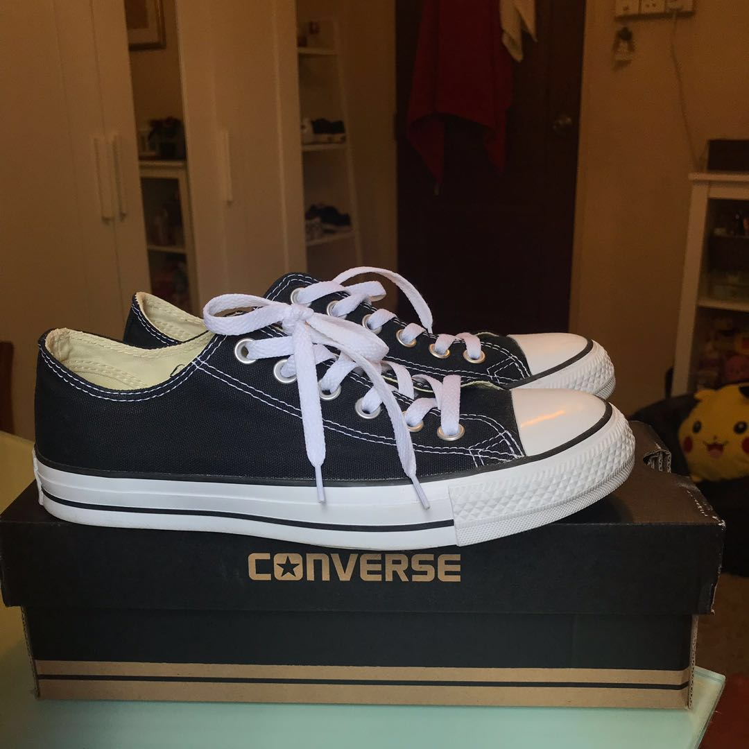 d9b37bc97f9 Authentic Black unisex converse all star shoes