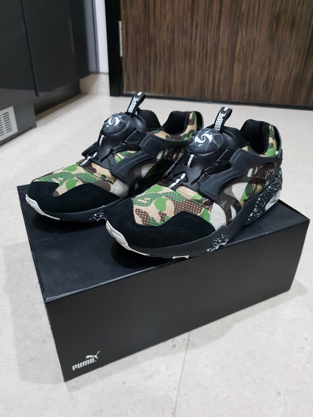 BAPE x Puma Disc Blaze. Brand new. Pls contact 91450272 to deal ... a24c54270