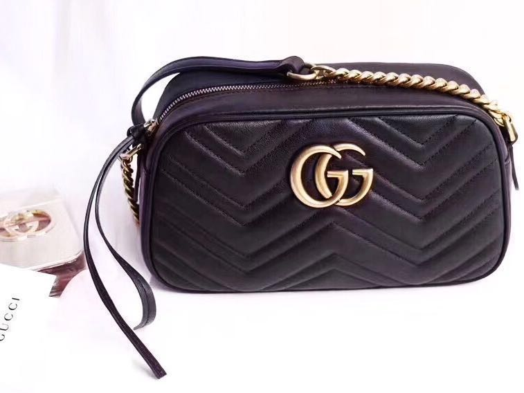 2ef73c12b0c1 👍🏻BEST SELLING Gucci Chevron Leather GG Marmont Matelasse Camera ...