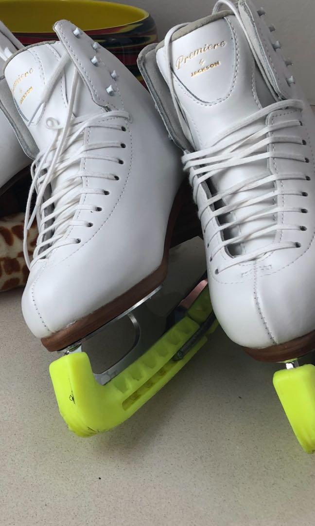 Brand new Jackson Premier ice skates with Coronation Ace blades