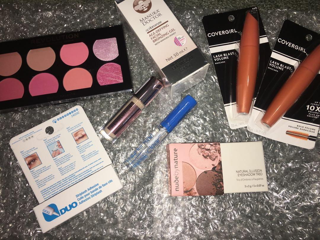 Brand new sealed makeup and beauty