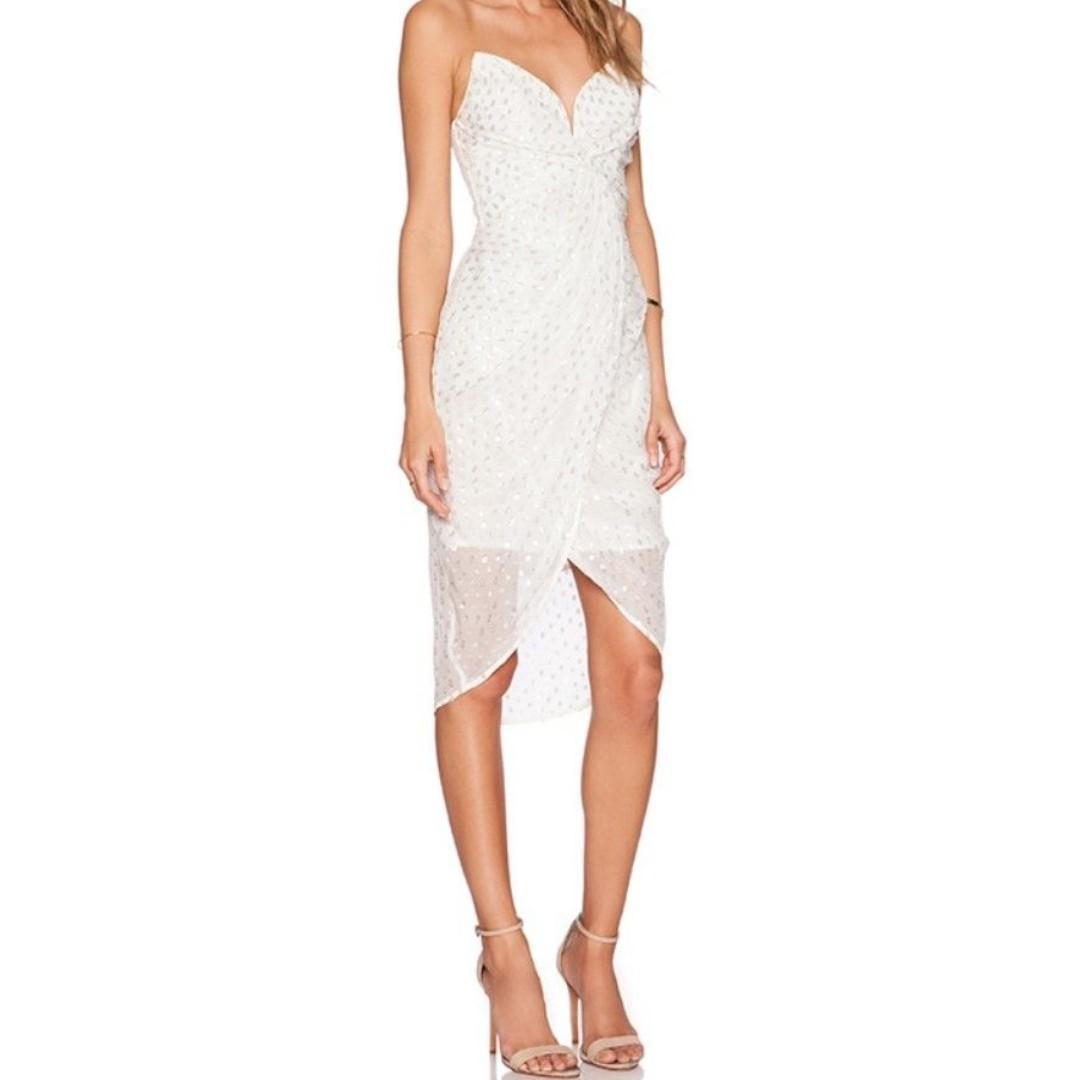 BRAND NEW WITH TAGS ZIMMERMANN SEER TWIST DRESS - SIZE 1 RRP $450