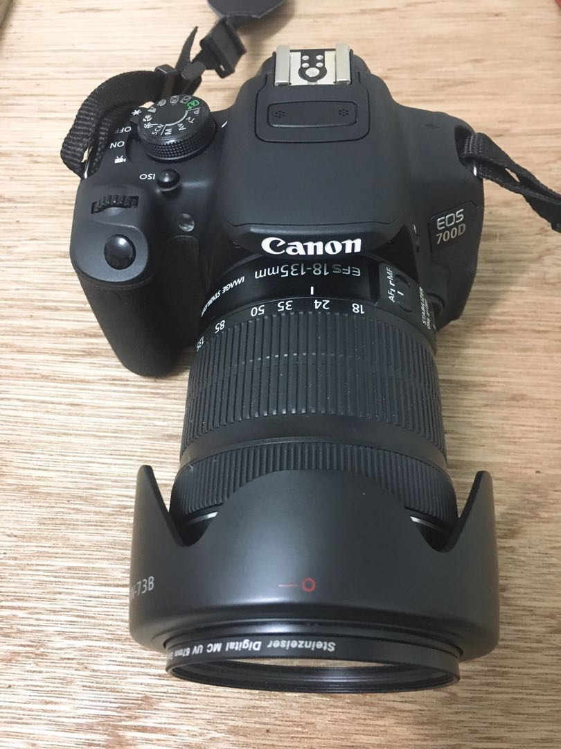 Canon 700d With 18 135mm Lens Price Reduced Photography Cameras