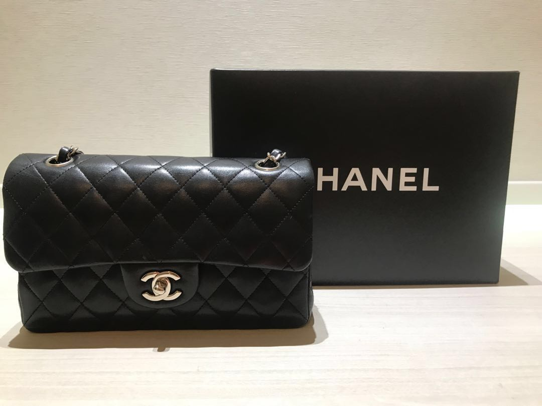 2bf33dcaa66 Chanel 2.55 medium classic flap with silver hardware, Luxury, Bags &  Wallets, Handbags on Carousell