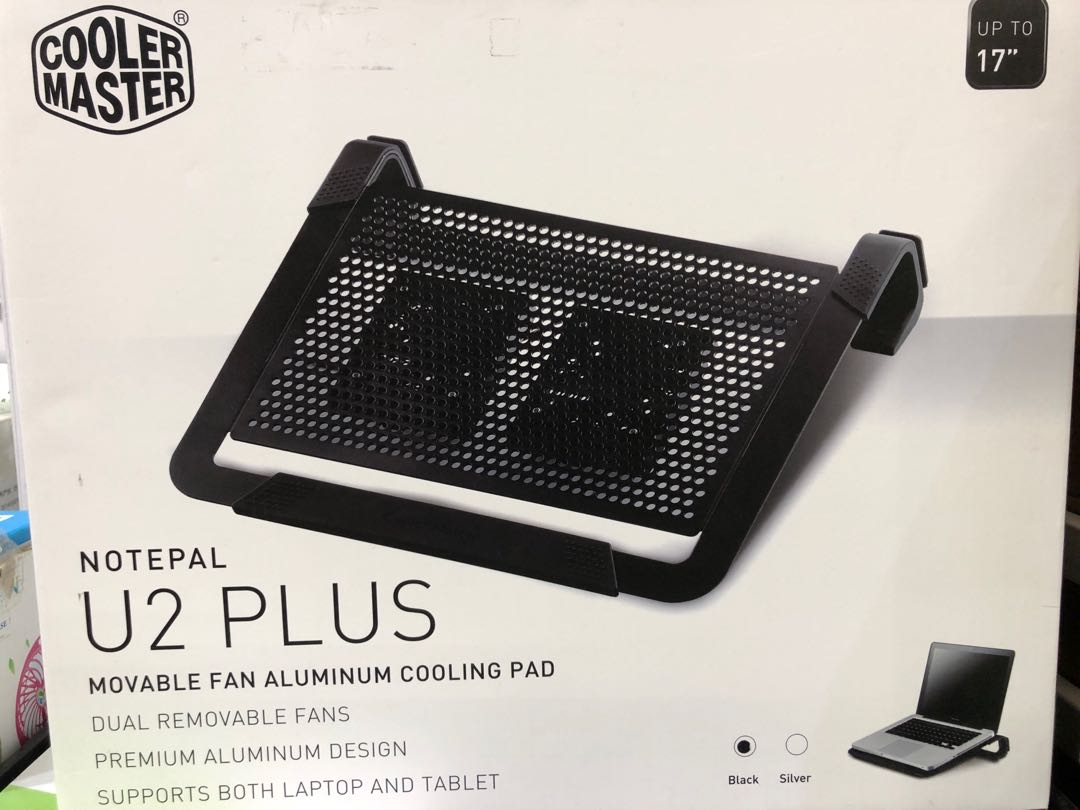 1d3354e1cd COOLER MASTER NotePal U2 Plus Movable Aluminum Cooling Pad ...
