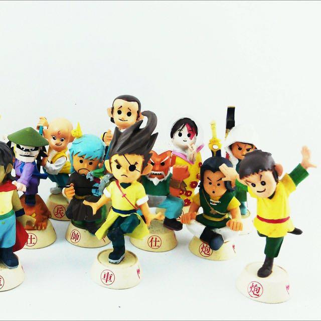 Feng Yun Chess Set Figurines
