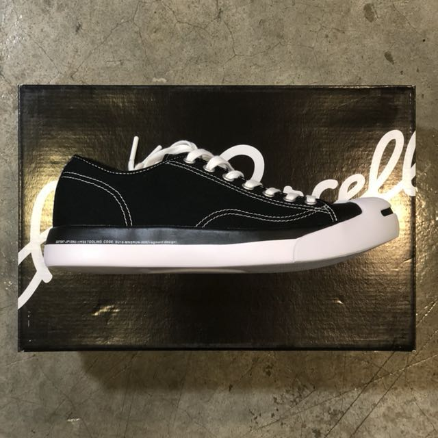 a478e93749a Fragment x Converse Jack Purcell Black size US9 ( size seems smaller ...