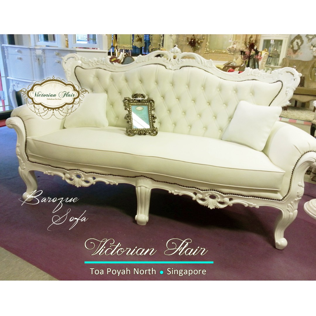 French Baroque Sofa By Victorian Flair Furniture Sofas On