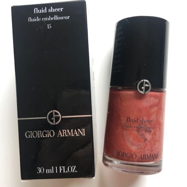 Giorgio Armani Fluid Sheer Shade 15