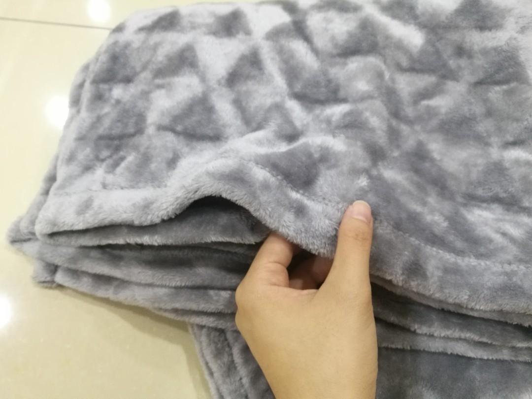 Grey Soft Blanket