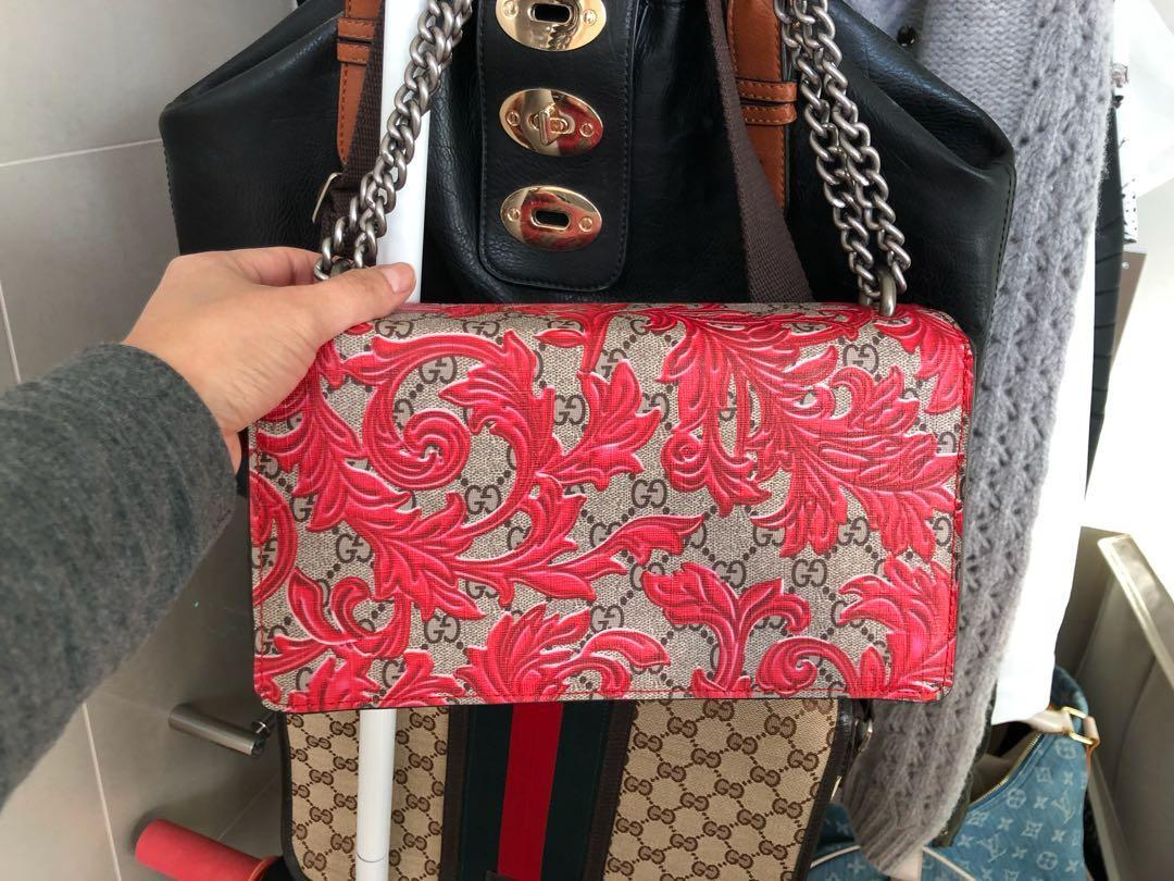 Gucci inspired marmot printed