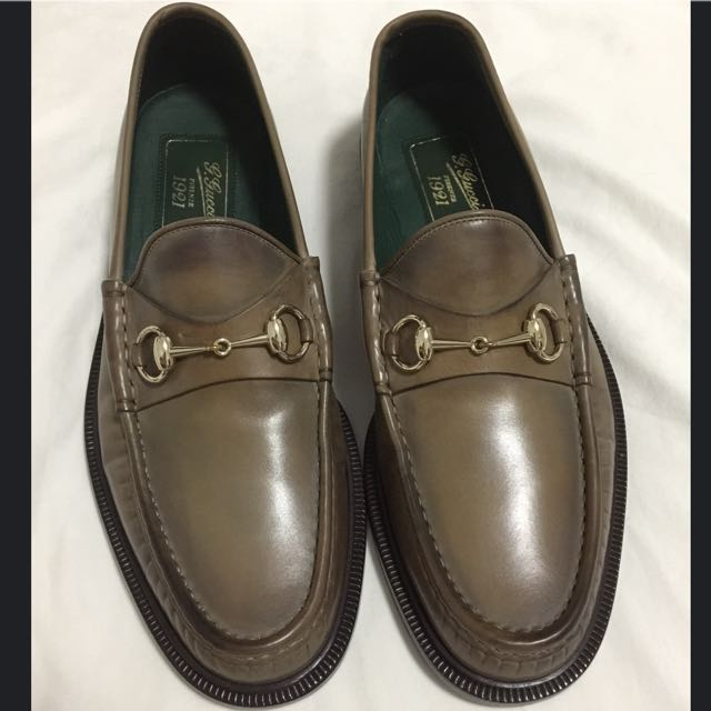 05e85a64b57 Gucci Shoes Horsebit Loafers 1921 Collection Hand Shaded Leather ...