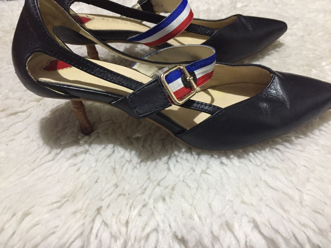 a8a0ce384fd Gucci Sylvie Unia Bamboo Heels
