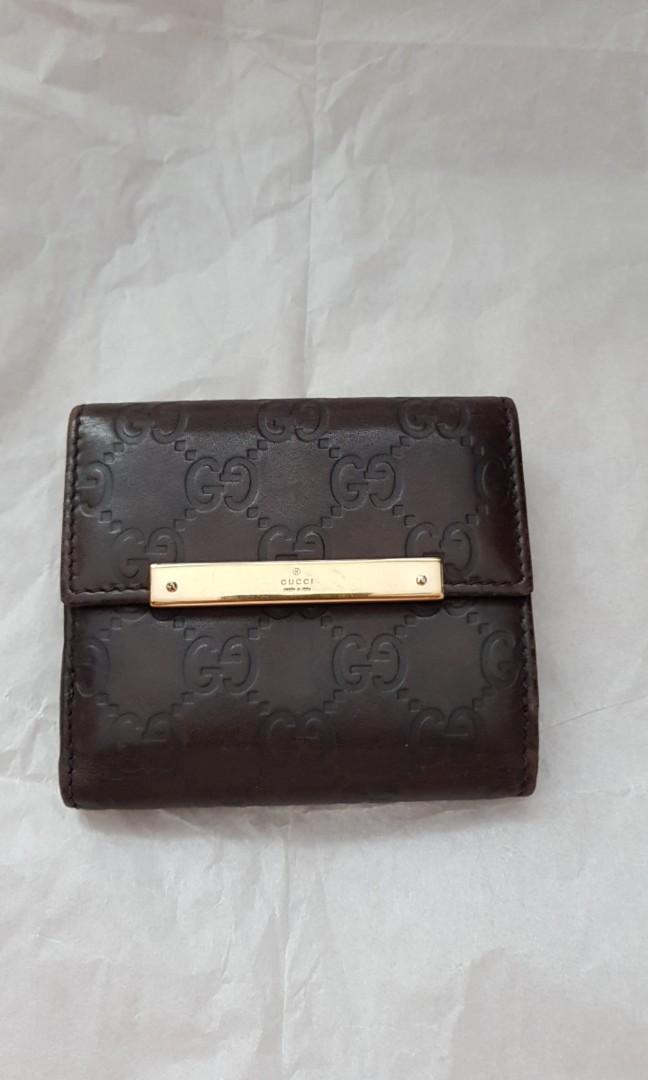 caa9b38d9fab Gucci wallet, Women's Fashion, Bags & Wallets, Wallets on Carousell