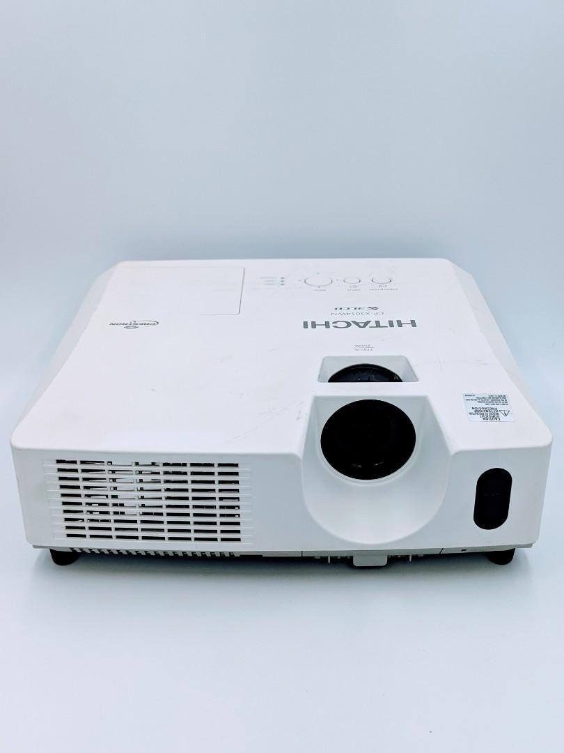 hitachi projector CP-x3014wn, Home Appliances, TVs