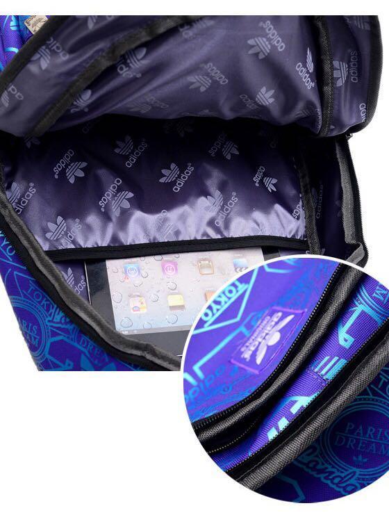 c115921050da Instock Adidas school Backpack Blue, Men's Fashion, Bags & Wallets ...