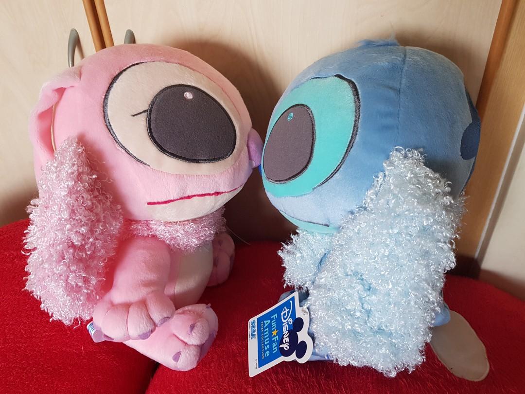 4616012c8b6 (INSTOCK) Disney Lilo Stitch   Angel Plush - Multi Pairs