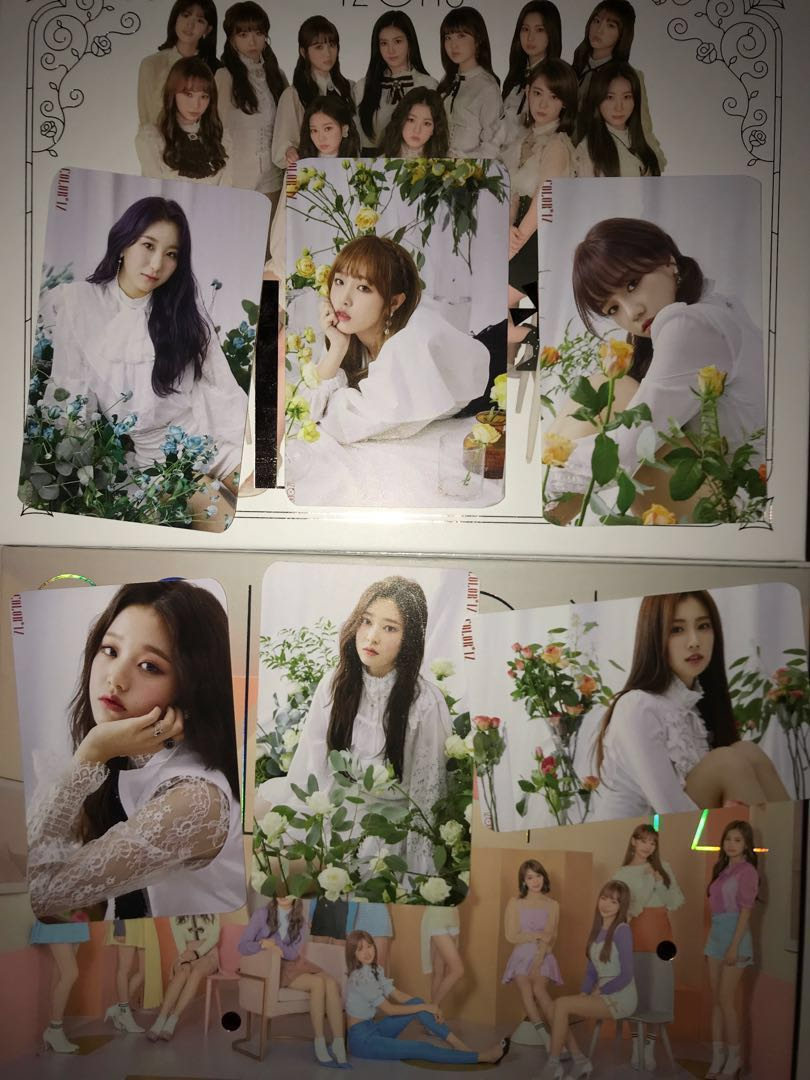 izone photocards