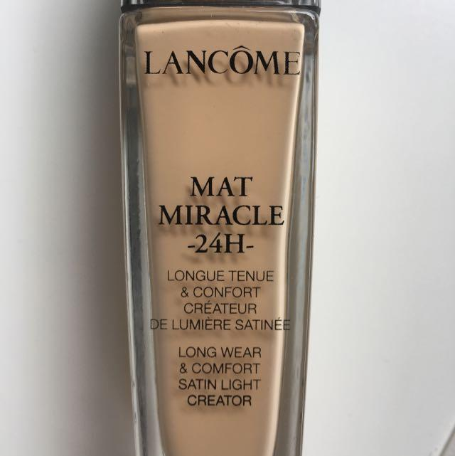 Lancome Foundation Mat Miracle Shade 02