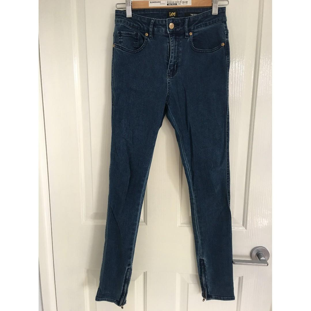 Lee High Licks Jeans. Petite size 9.