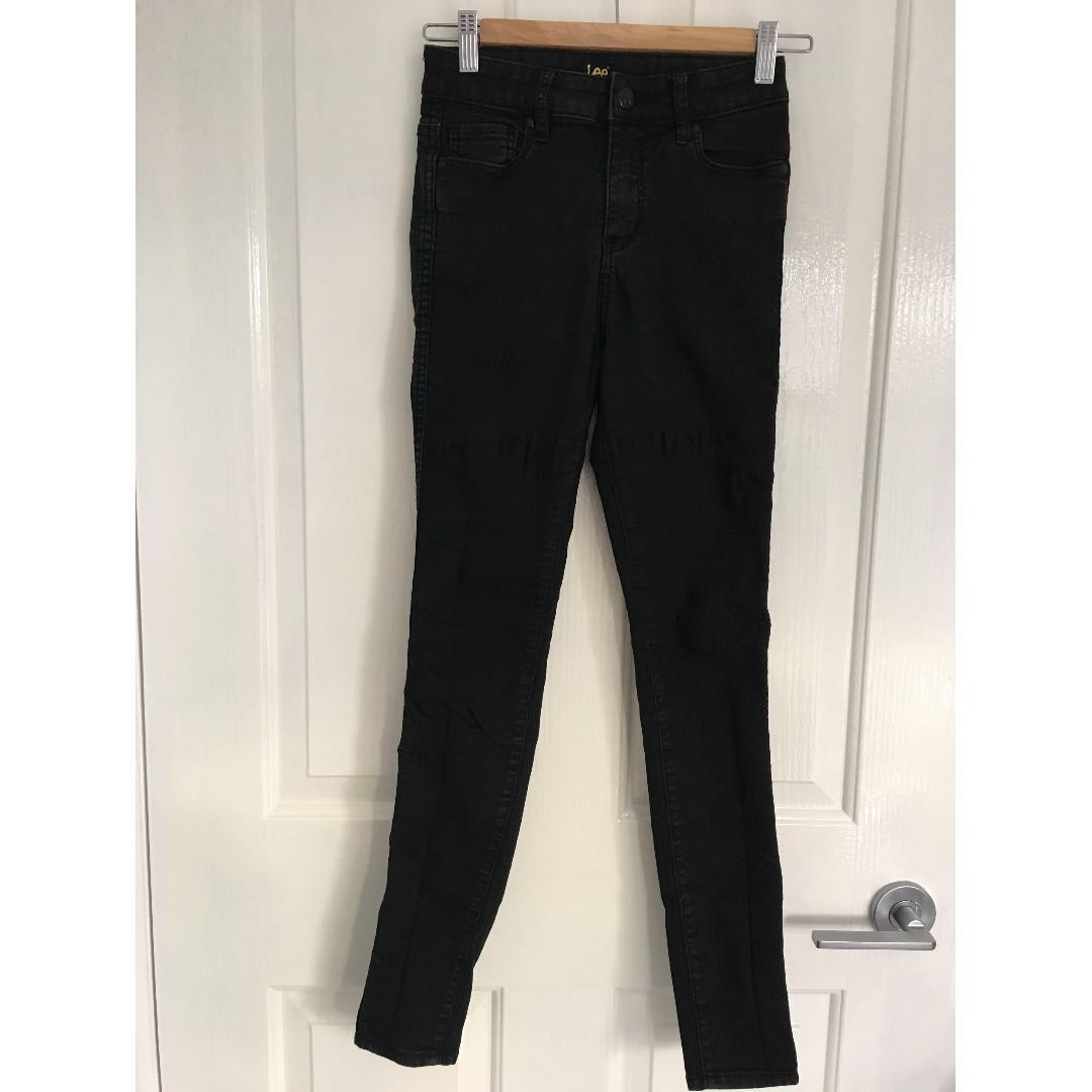 Lee Mid Licks Jeans. Petite Size 8