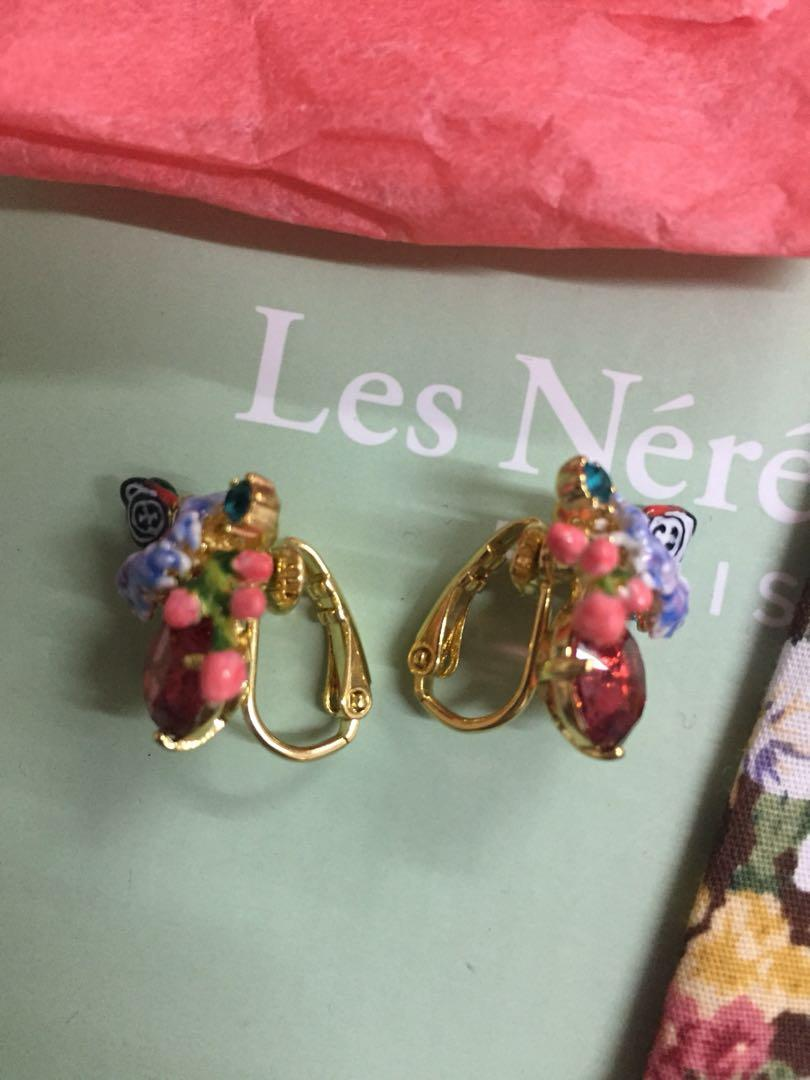 全新Les Nereides耳環(夾款)