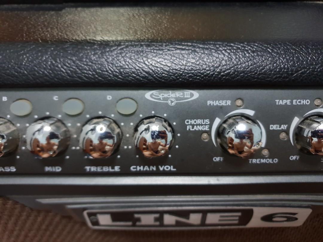 Line 6 spider 3 75 watt guitar amplifier, Music & Media