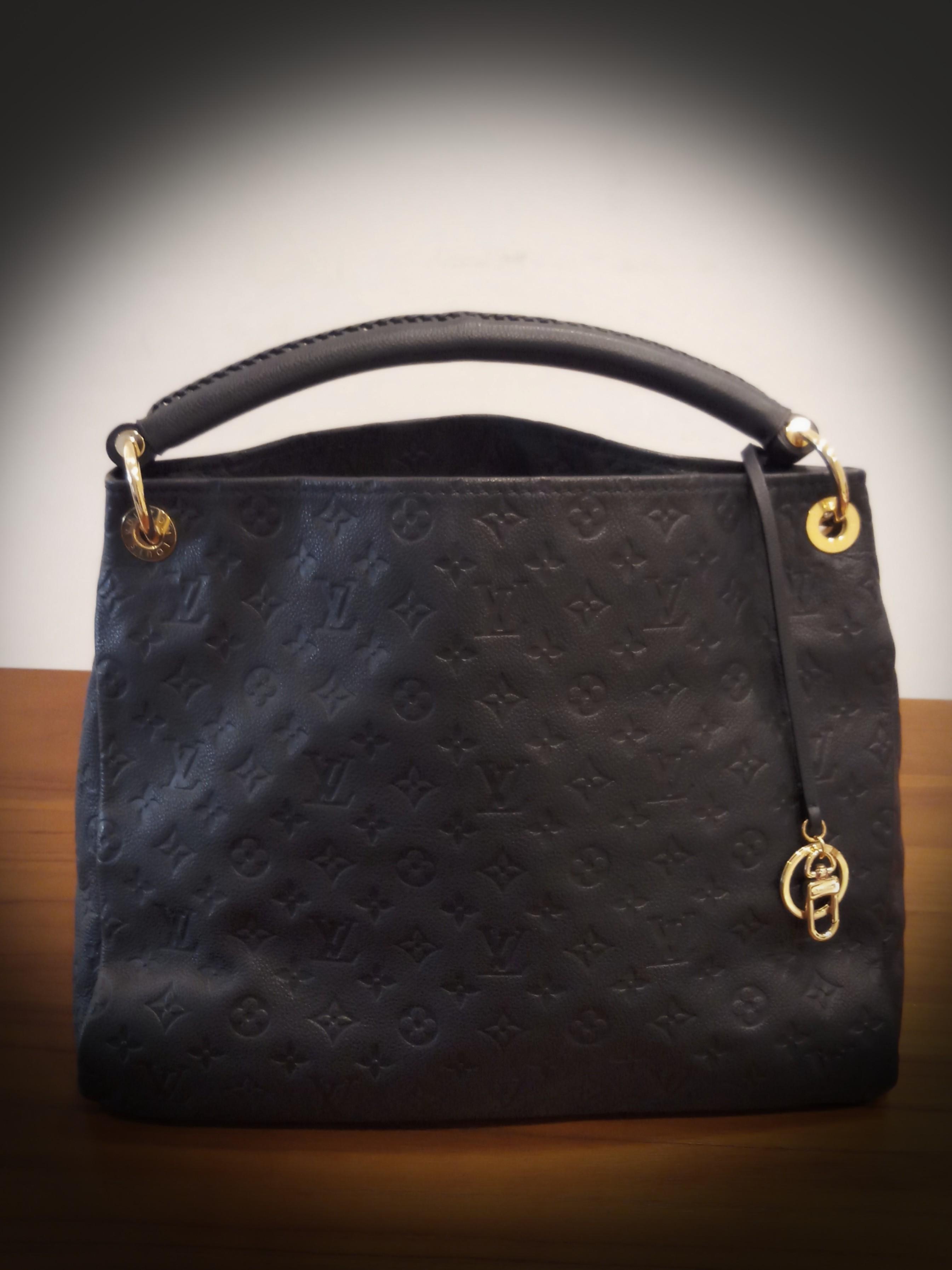 a2ffadcf9848 Louis Vuitton ARTSY MM Tote Bag~ Monogram Empreinte Leather
