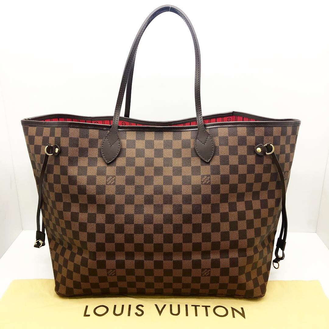50e6571b01 Louis Vuitton Damier Neverfull GM 197000196, Luxury, Bags & Wallets ...