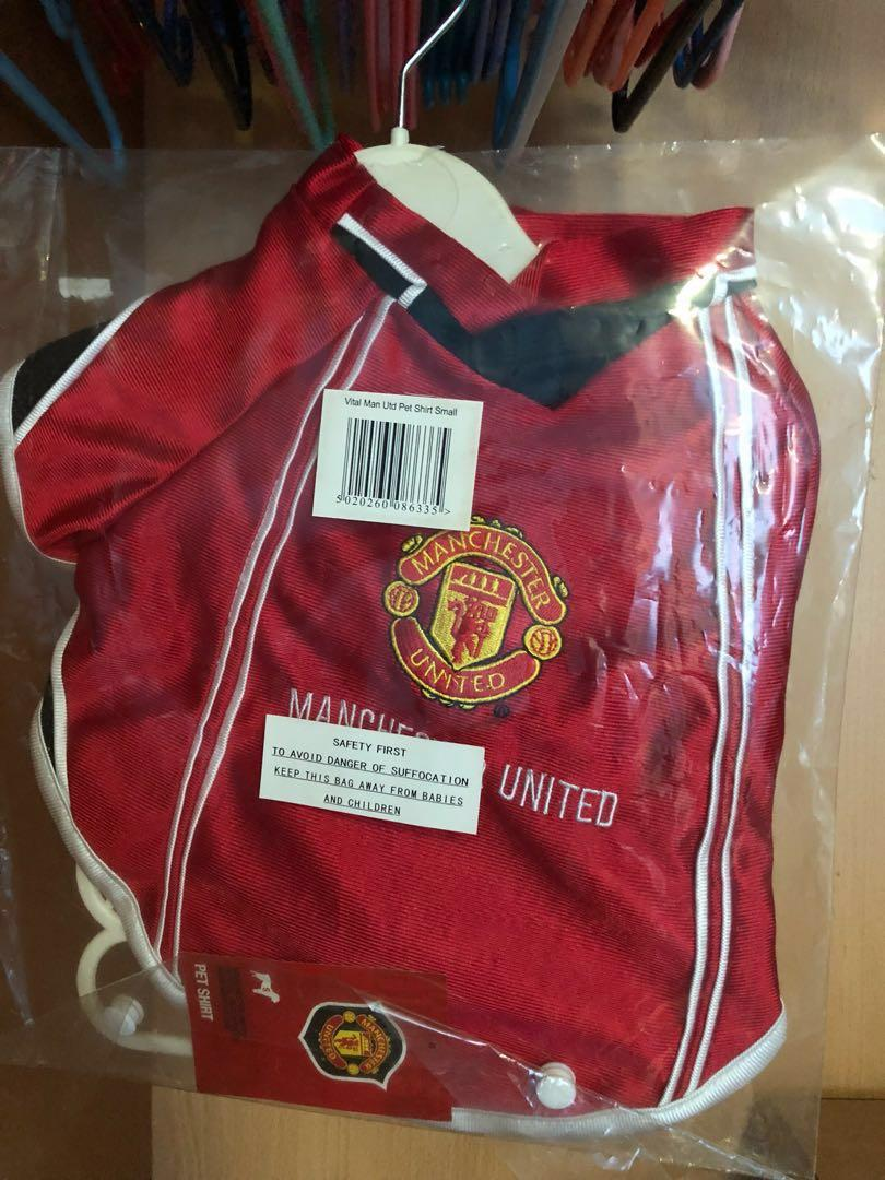 Manchester United S Dog Jersey Pet Supplies For Dogs Dog