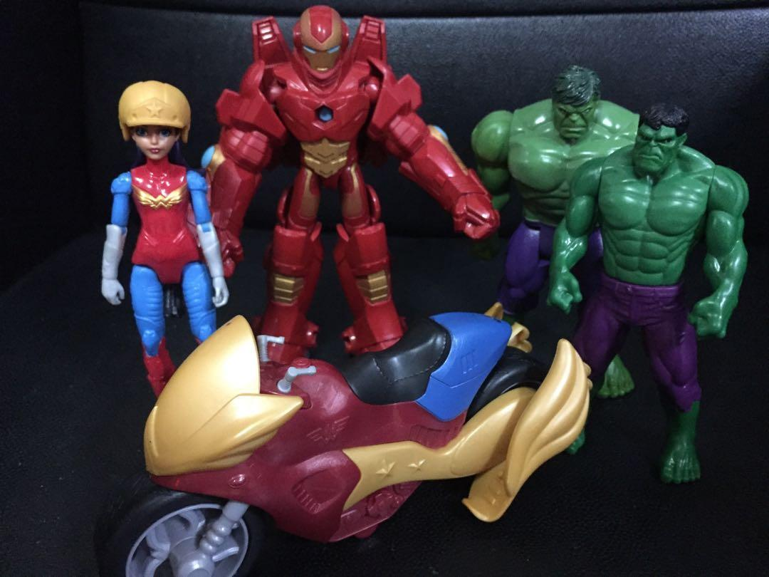 Marvel Hulk Wonder Woman Avengers Ironman Not Roblox Not Minecraft