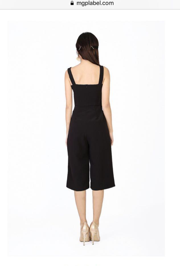 MGP Black Jumpsuit
