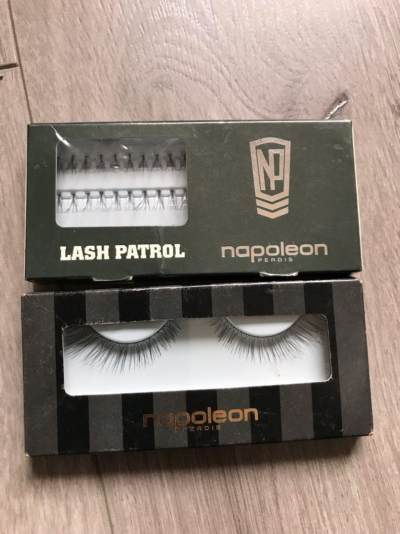 Napoleon false lashes -  $15 each or $25 for both!