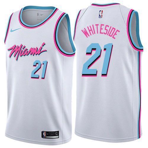 Nba Miami Heat Vice Swingman Men Jersey 💯 Authentic  c4657d38b