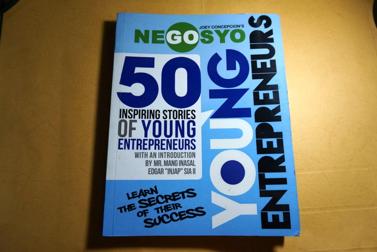 Negosyo: 50 Inspiring Stories of Young Enterpreneurs