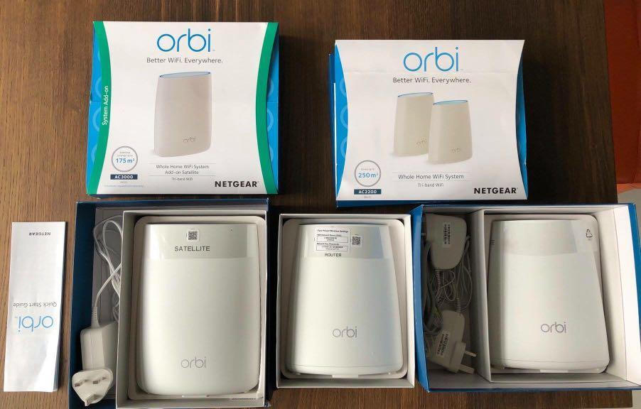 NETGEAR Orbi Mesh WiFi System (RBK40) + Ultra-Performance
